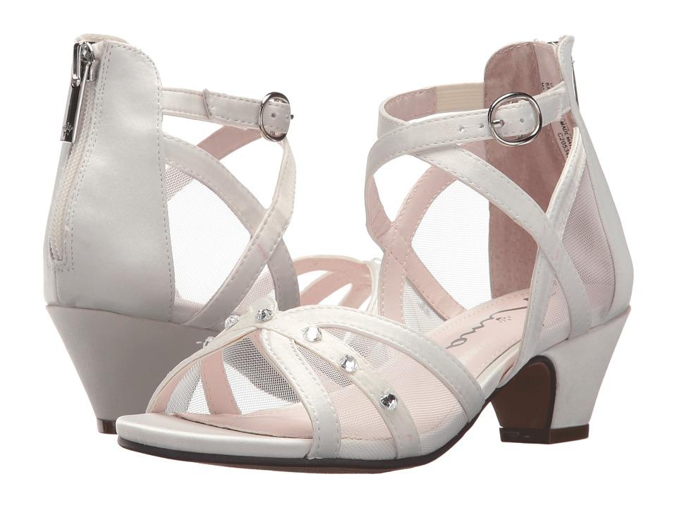 Nina Kids Betty (Little Kid/Big Kid) (White) Girls Shoes