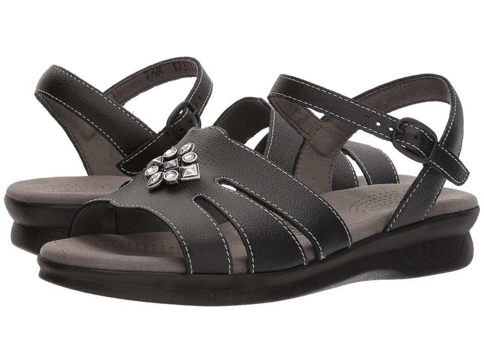 SAS - Helena (Black) Women's Sandals