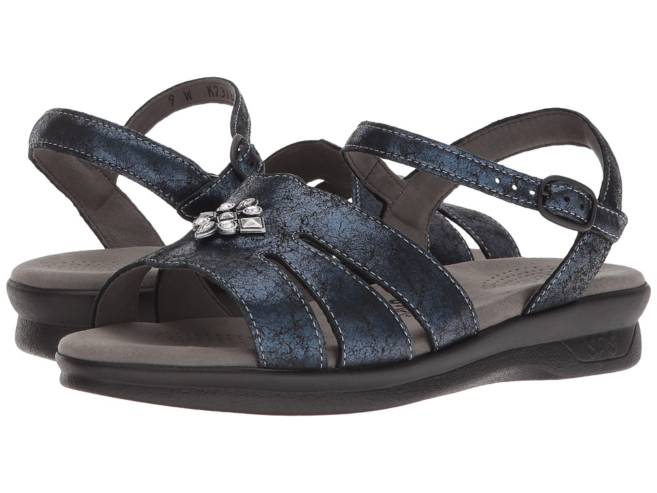 SAS Helena (Crackle Navy) Sandals