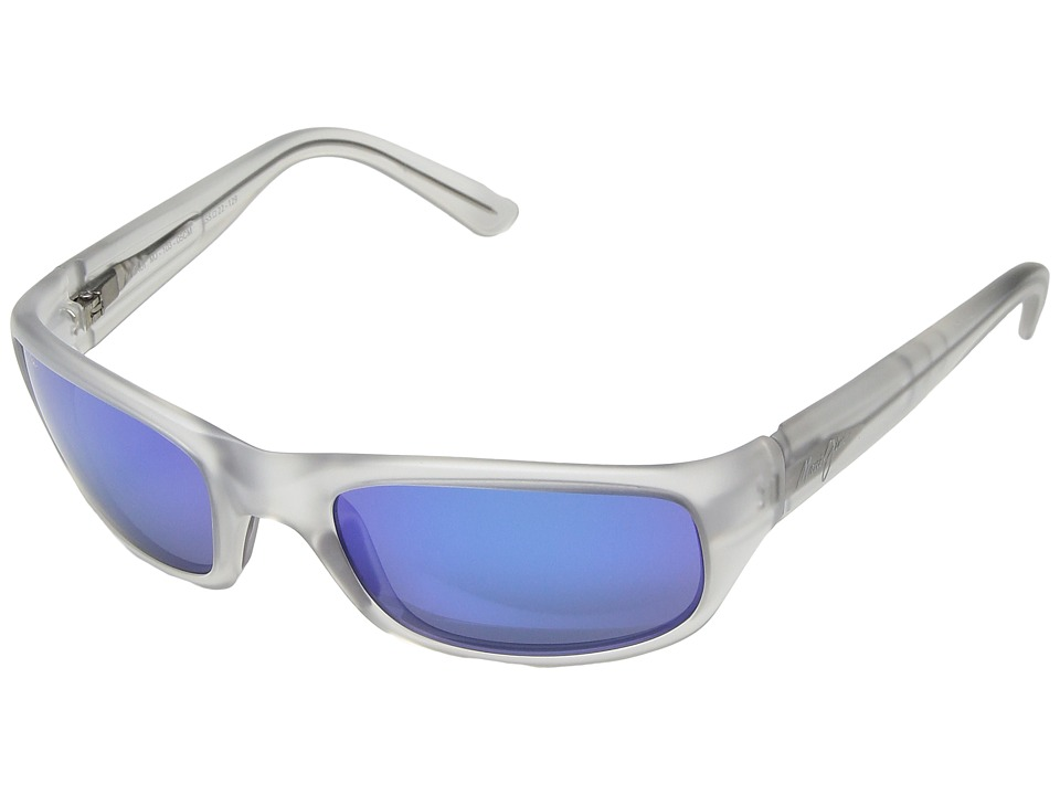 Maui Jim - Stingray (Crystal Matte/Blue Hawaii) Sport Sunglasses