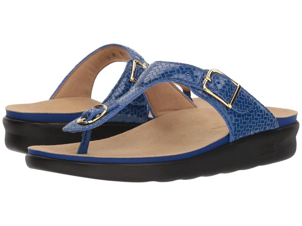 SAS Sanibel (Weave Sapphire) Women's Shoes