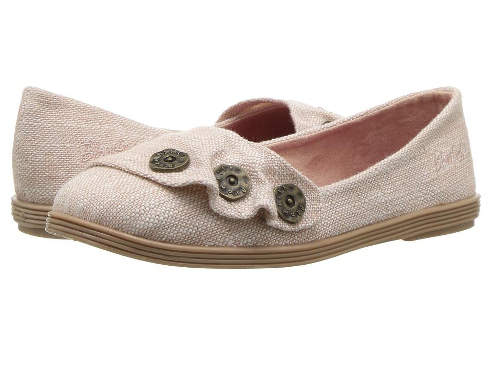 Blowfish Kids Galven-K (Little Kid/Big Kid) (Blush Moroccan Linen) Girl's Shoes