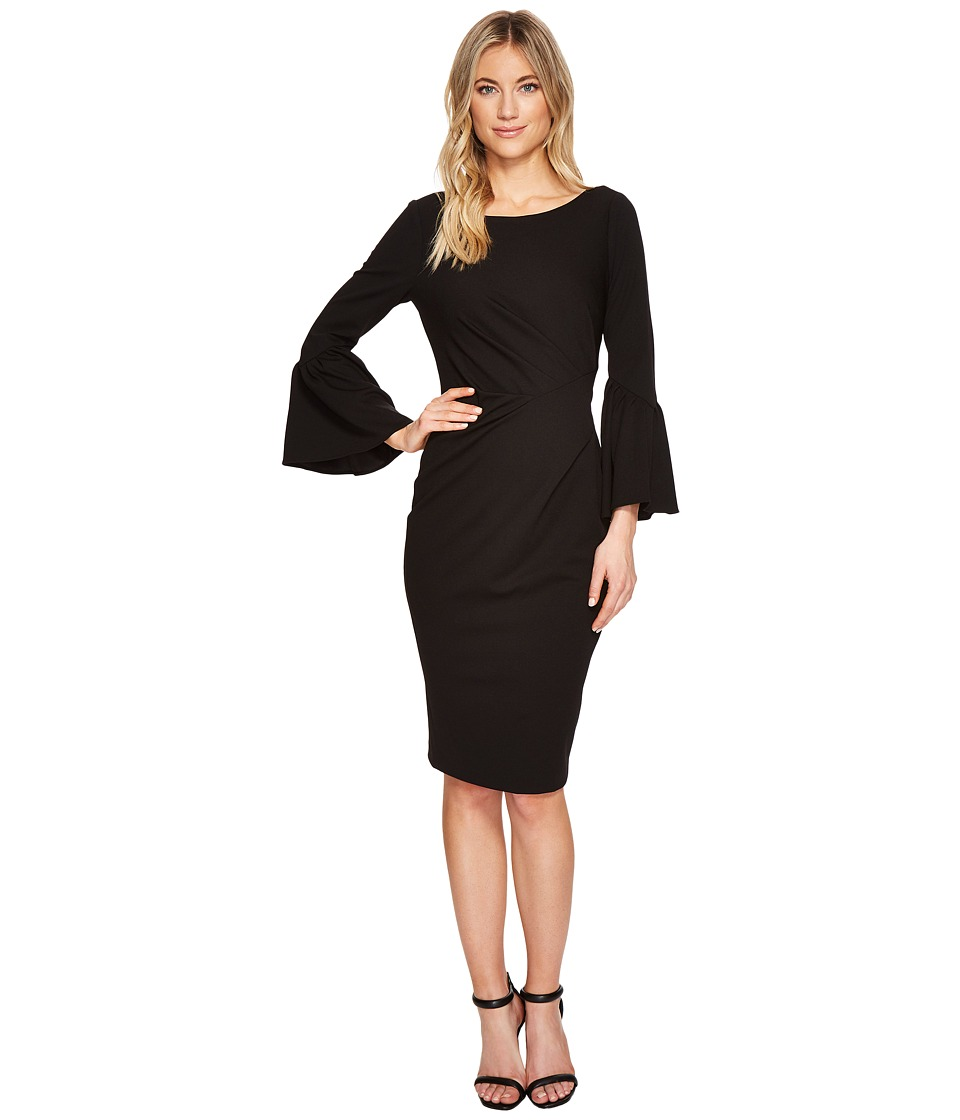 Adrianna Papell - Knit Crepe Sheath Dress
