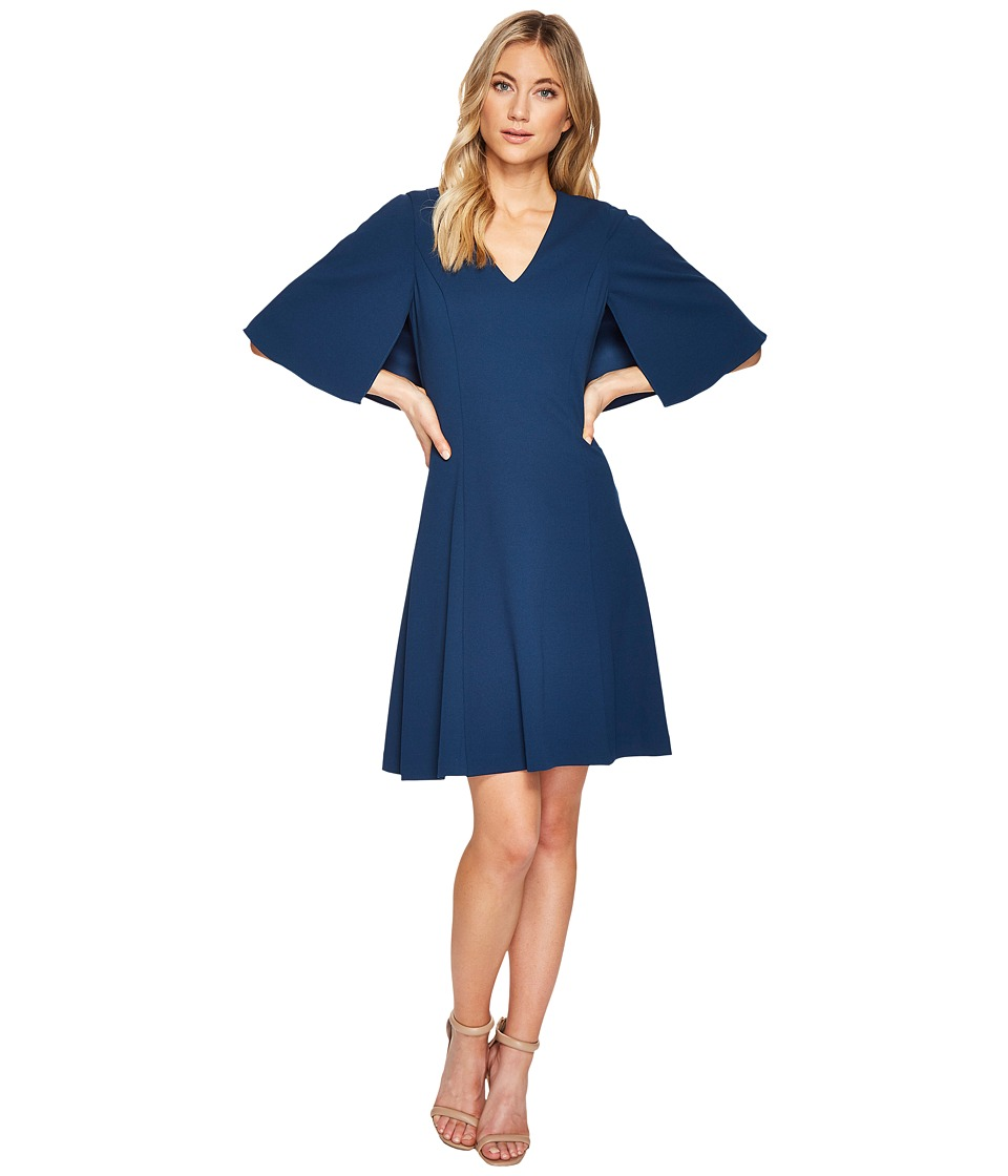 Adrianna Papell - Knit Crepe Aline Fit and Flare