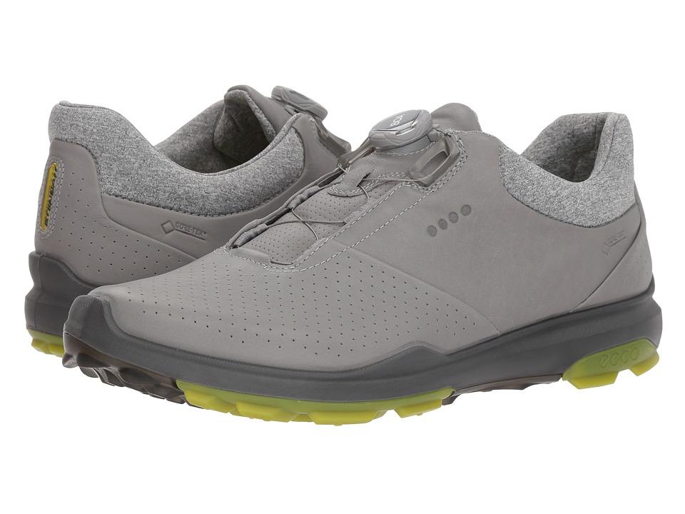 Ecco Golf - Biom Hybrid 3 Boa (Wild Dove/Kiwi) Men's Golf...