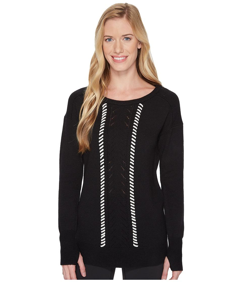 Blanc Noir - Pointelle Sweater