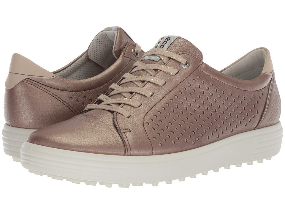ECCO Golf Casual Hybrid 2 Perf (Warm Grey) Women's Golf Shoes