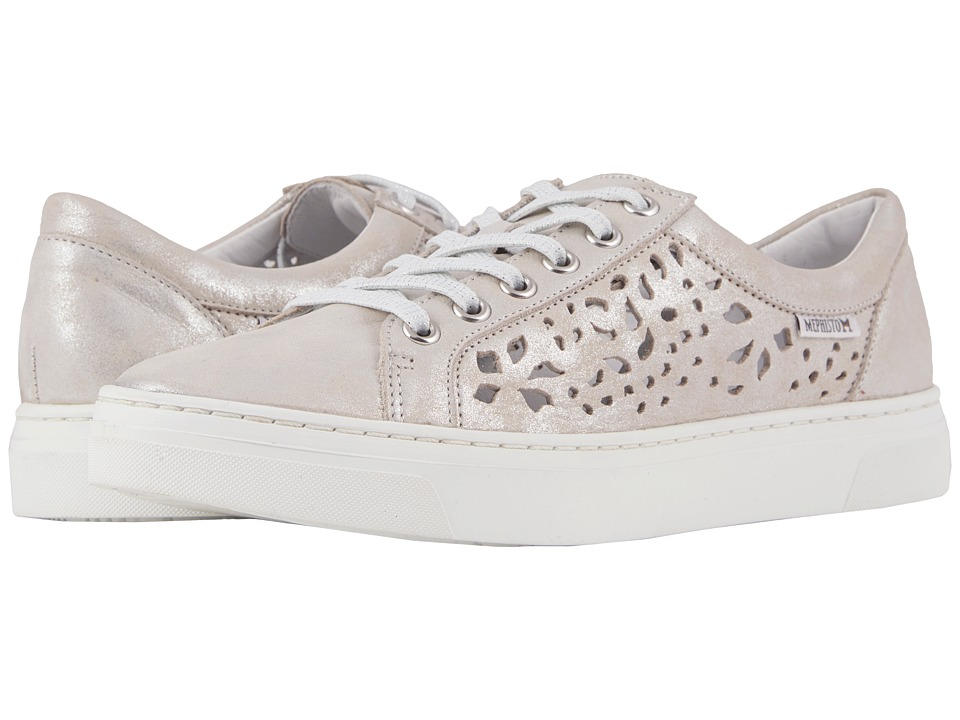 Mephisto - Amelya Perf (Off-White Monaco) Womens Lace up casual Shoes