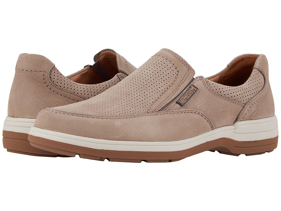 Mephisto - Davy Perf (Sand Sportbuck) Mens Slip on  Shoes