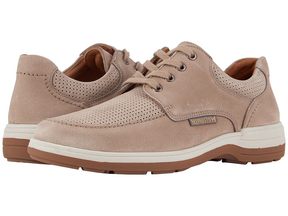 Mephisto - Douk Perf (Sand Sportbuck) Mens Lace up casual Shoes