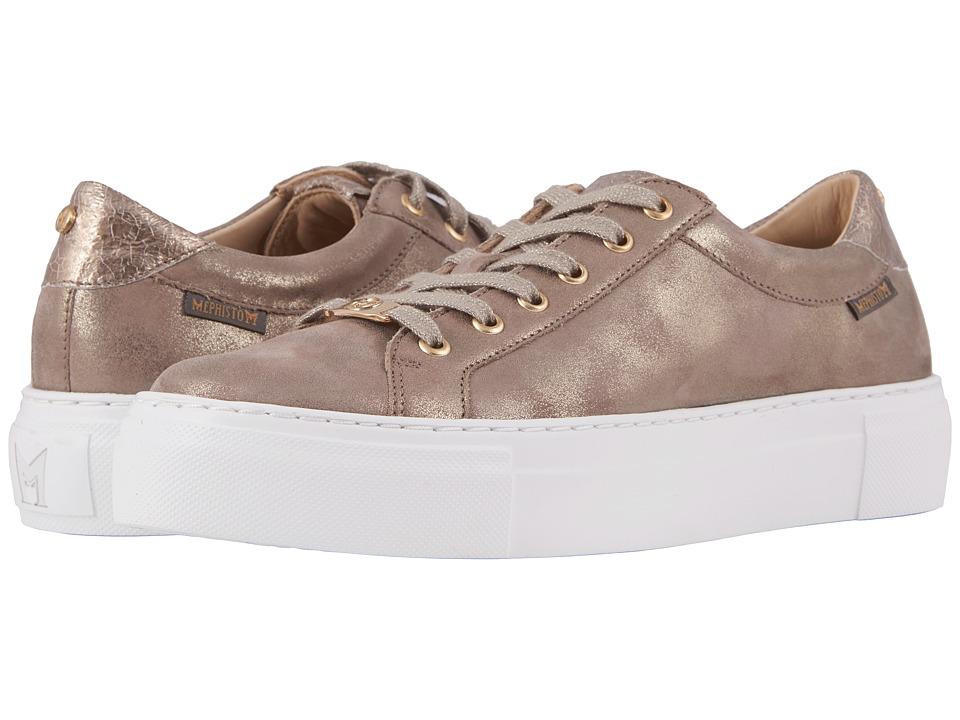 Mephisto - Gyna (Dark Taupe Monaco/Platinum Ice) Womens  Shoes