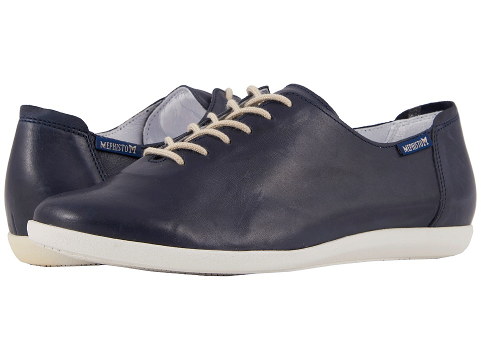 Mephisto - Katie (Navy Silk) Womens  Shoes