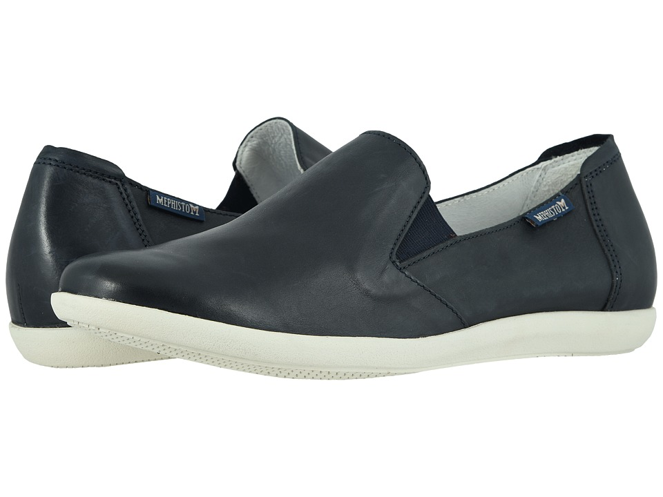 Mephisto - Korie (Navy Silk) Womens  Shoes