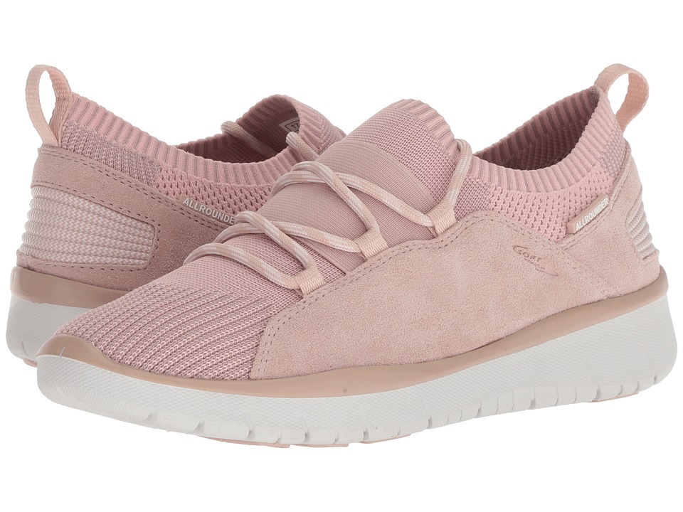 Allrounder by Mephisto - Lets Go (Rose Dust Mesh/Suede) Womens Lace up casual Shoes