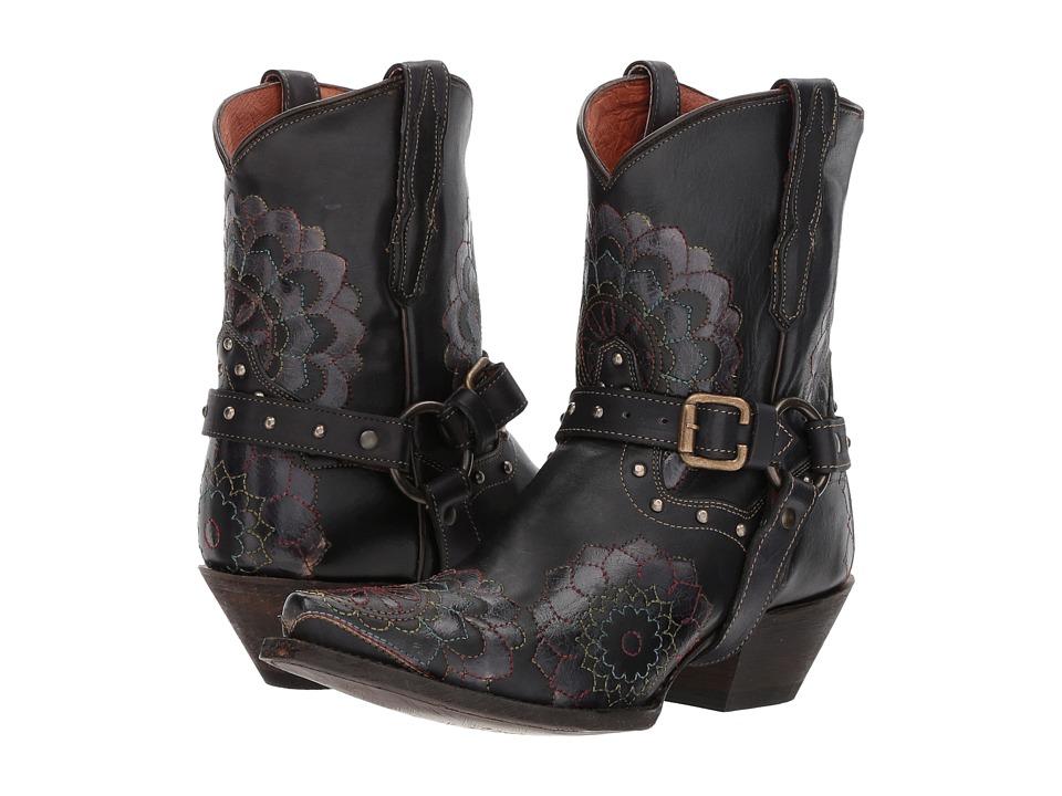 Dan Post Leslie (Black) Cowboy Boots