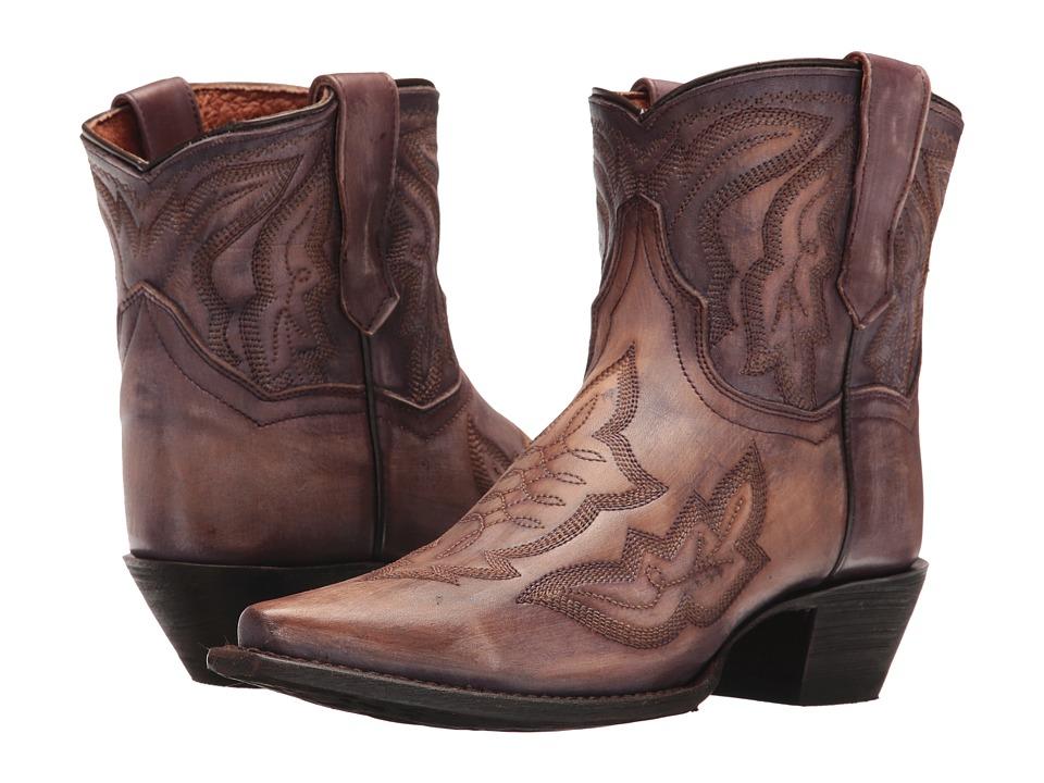 Dan Post Devon (Purple) Cowboy Boots