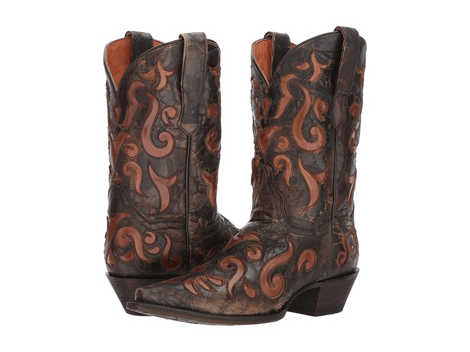 Dan Post Athena (Dark Brown) Cowboy Boots