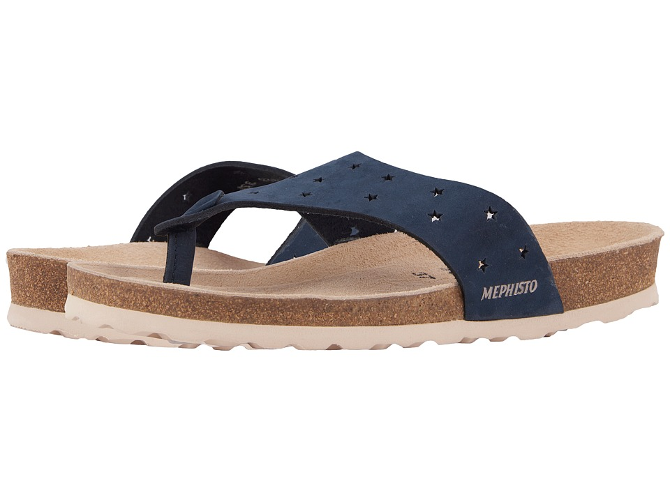Mephisto - Nikie Star (Navy Nubuck) Womens  Shoes