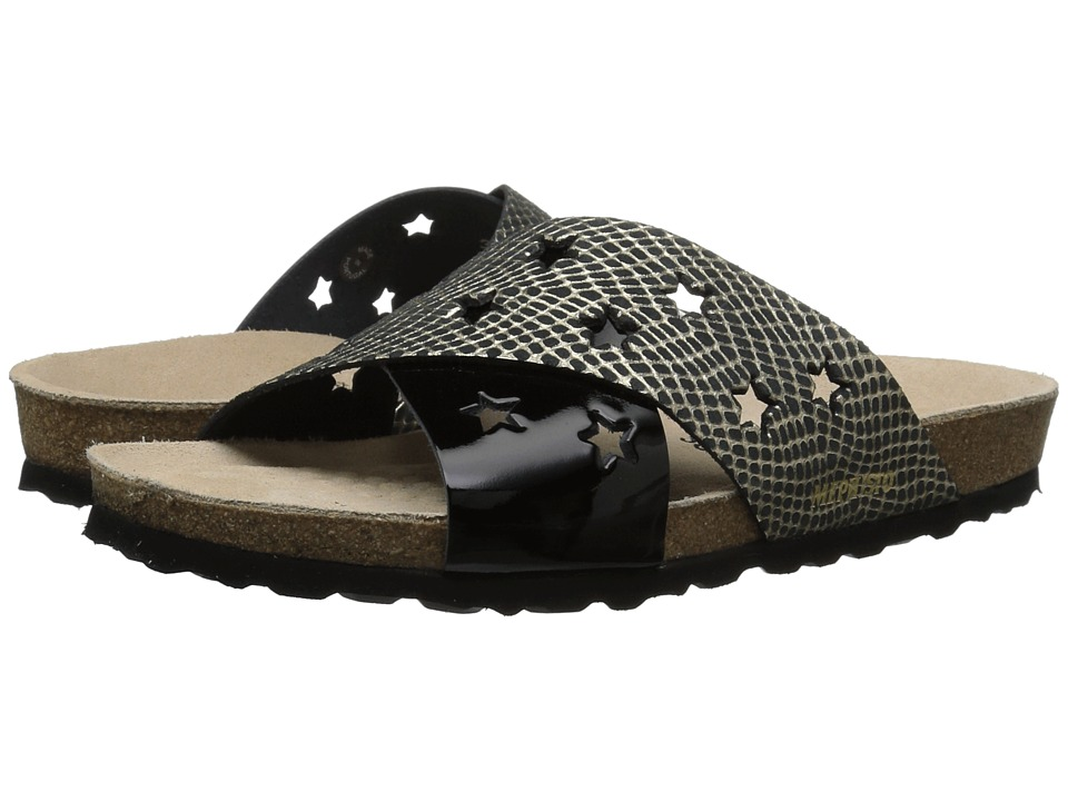 Mephisto - Nanou Star (Cuba/Black Patent) Womens  Shoes