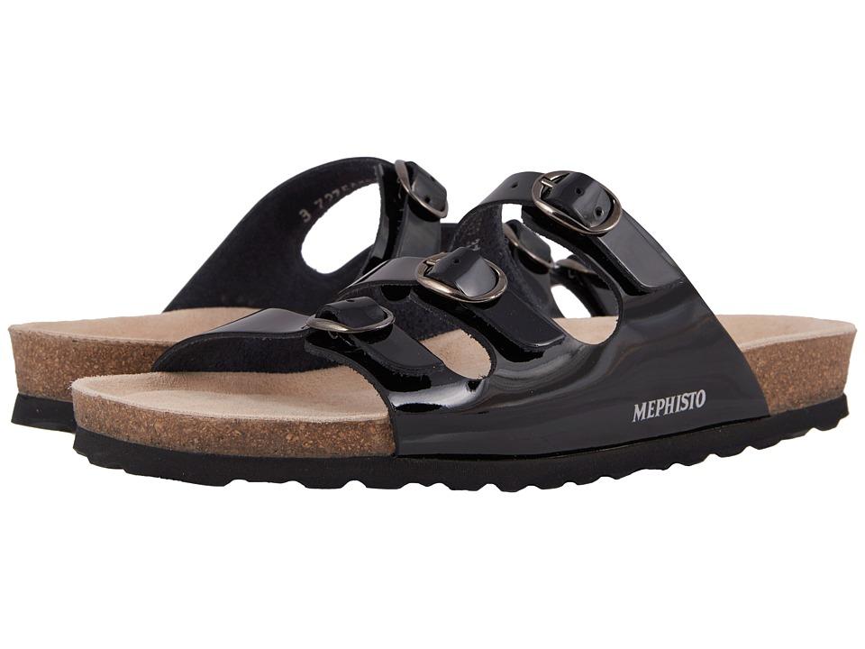 Mephisto - Nolene (Black Patent) Womens  Shoes