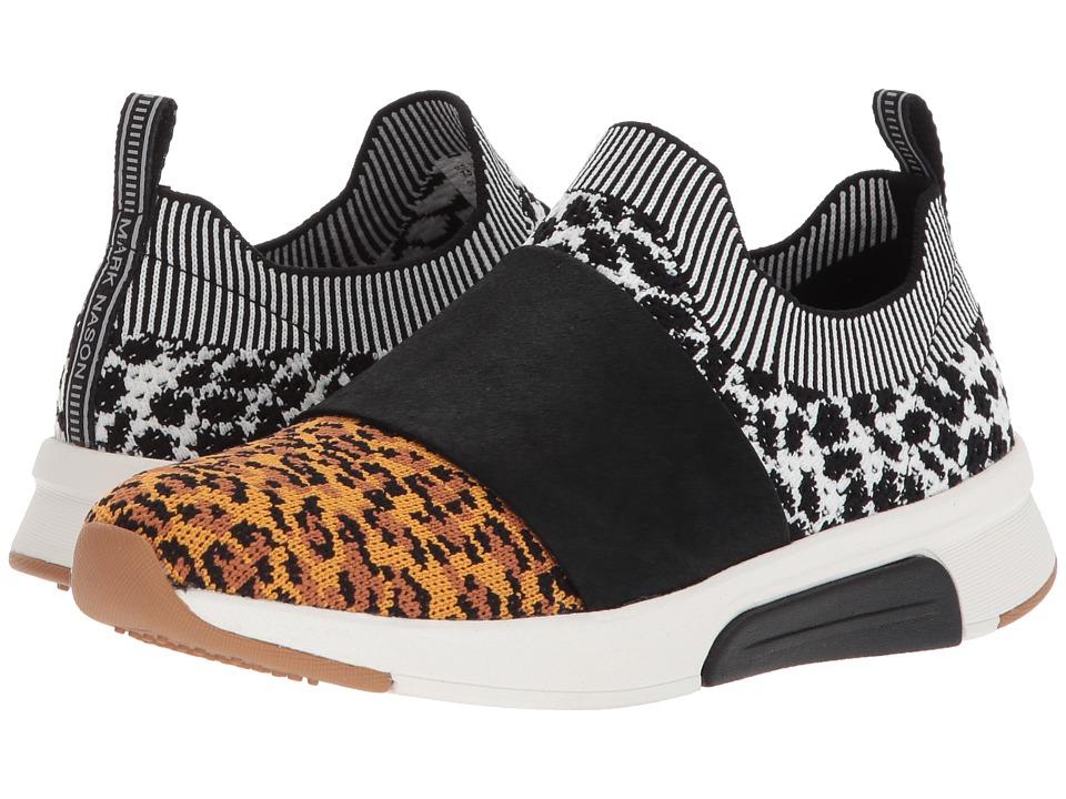 Mark Nason Modern Jogger - Abbe (Leopard) Slip-On Shoes