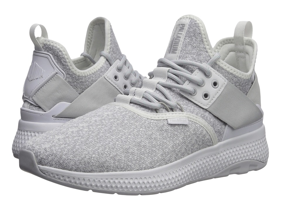 Palladium Ax Eon Lace Knitted (White/Nimbus Cloud/White) Women's Shoes