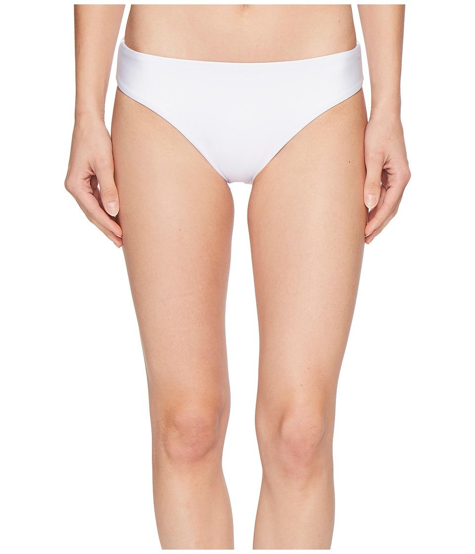 Splendid Art Deco Retro Bikini Bottom (White)