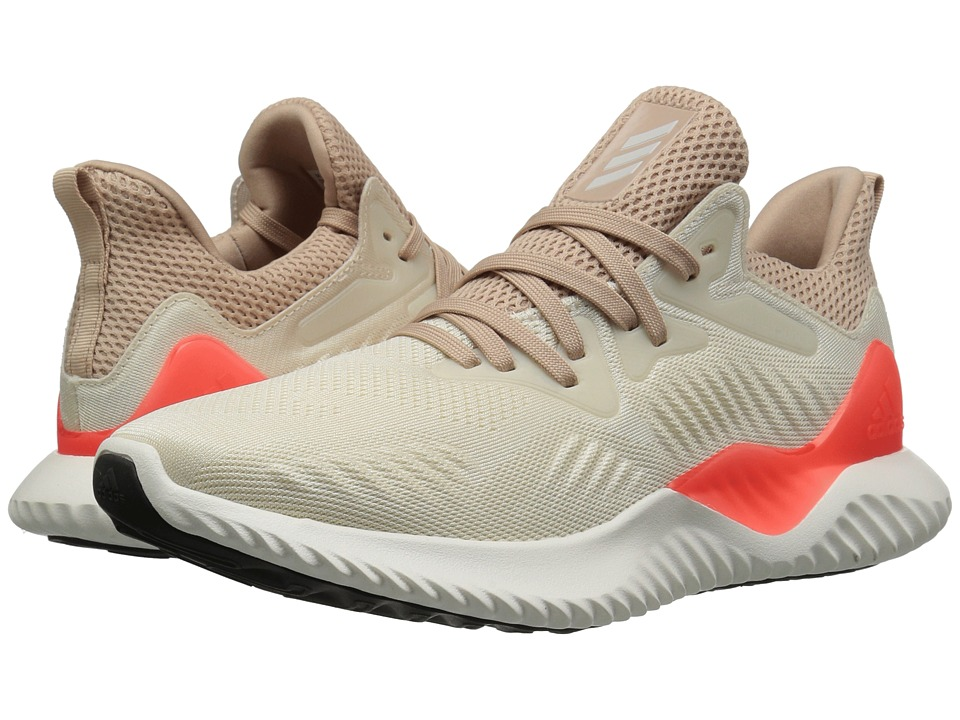 adidas Kids Alphabounce 2 (Big Kid) (Linen/Chalk White/Ash Pearl) Kids Shoes