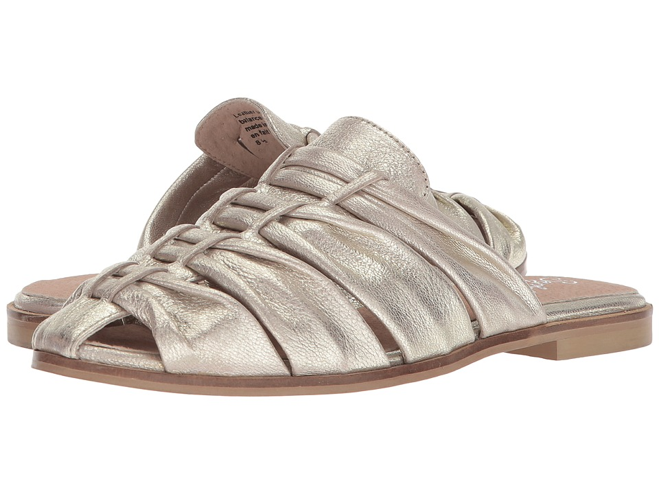 Seychelles Sacrifice (Platinum Leather) Slides