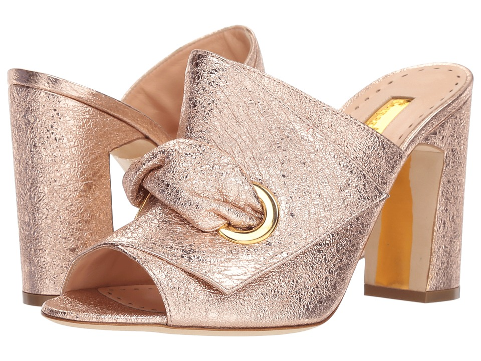 Rupert Sanderson - Serena (Rose Gold/Crush Laminate) Womens Shoes