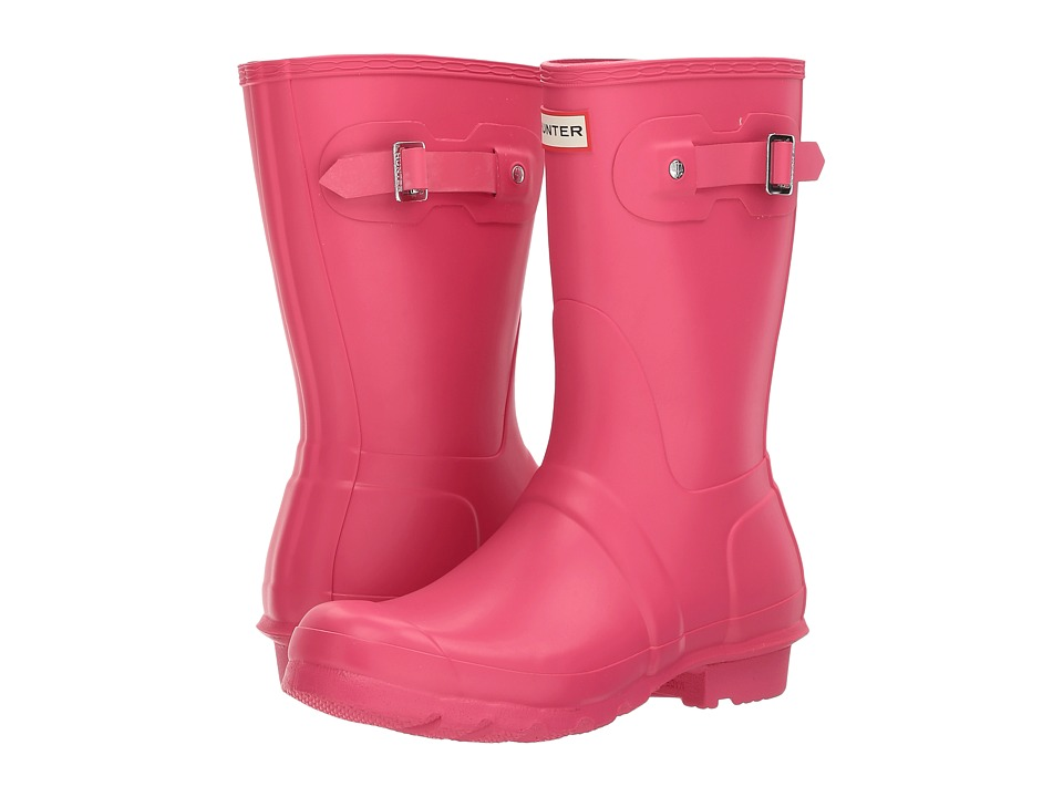 Hunter Original Short Rain Boots (Bright Pink) Women