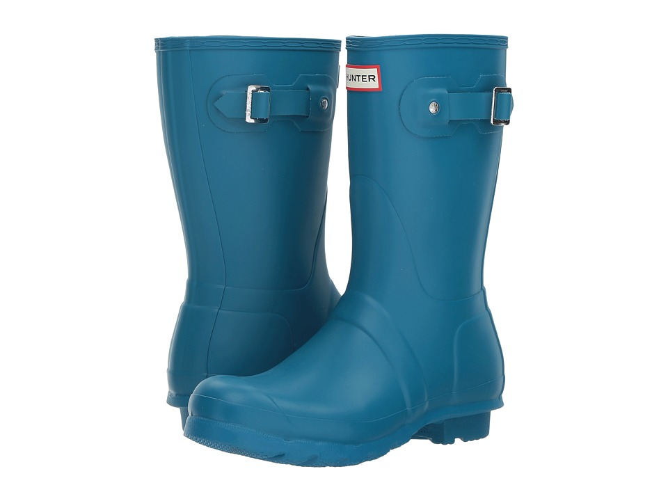 Hunter Original Short Rain Boots (Ocean Blue) Women