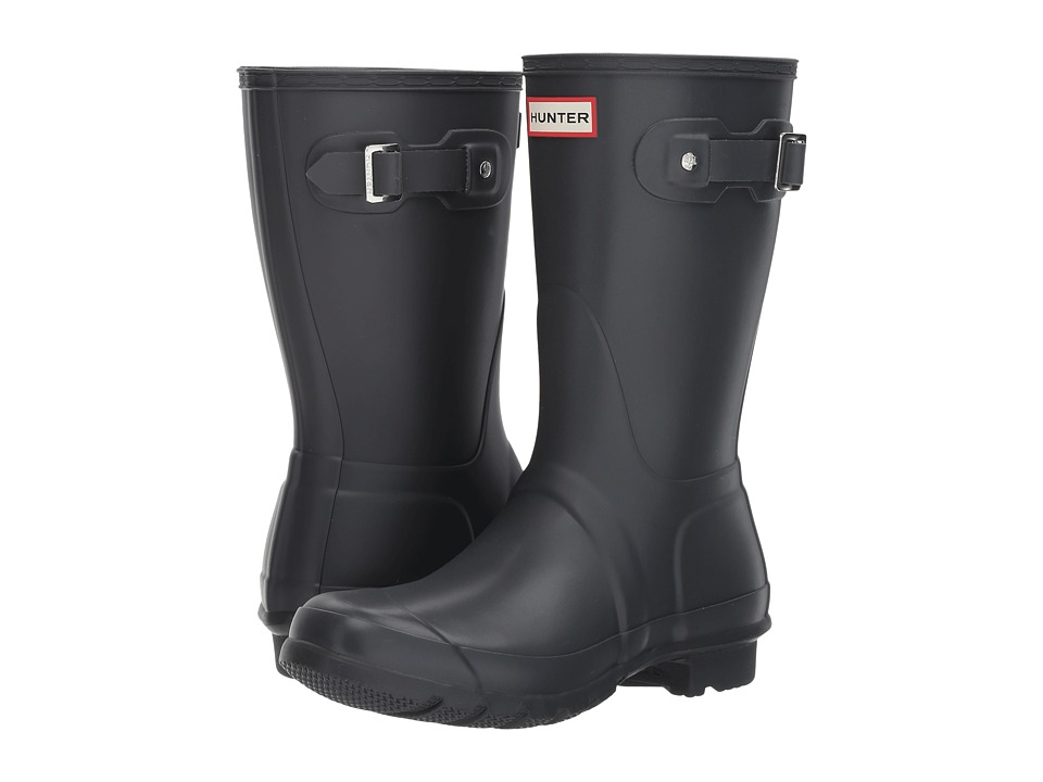 Hunter Original Short Rain Boots (Dark Slate) Women