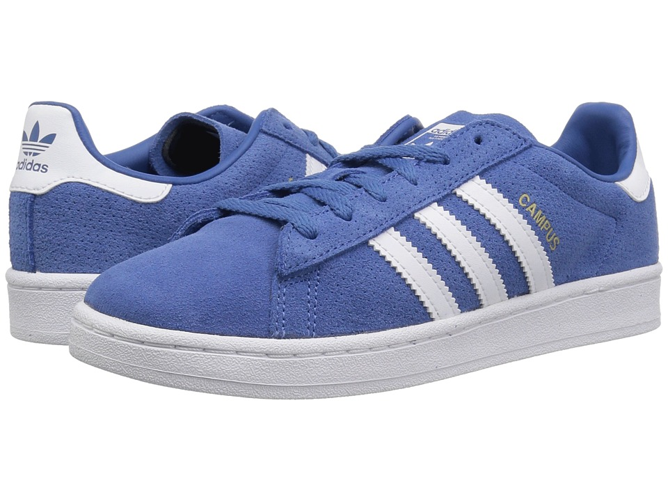 adidas Originals Kids - Campus (Little Kid) (Trace Royal/White) Boys Shoes