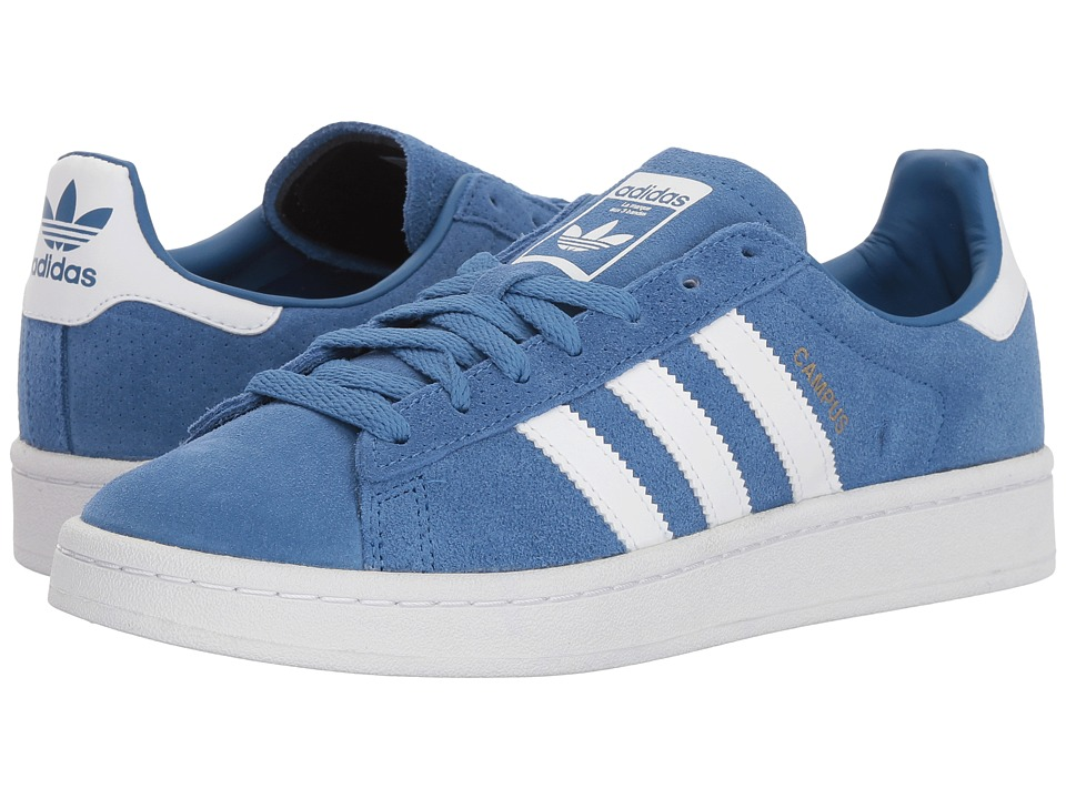 adidas Originals Kids - Campus (Big Kid) (Trace Royal/White) Boys Shoes