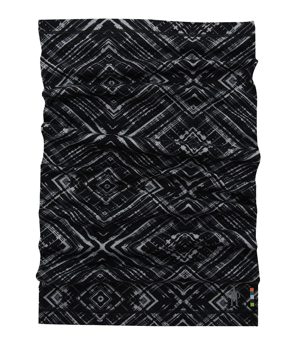 Smartwool Merino 150 Printed Neck Gaiter (Black) Scarves