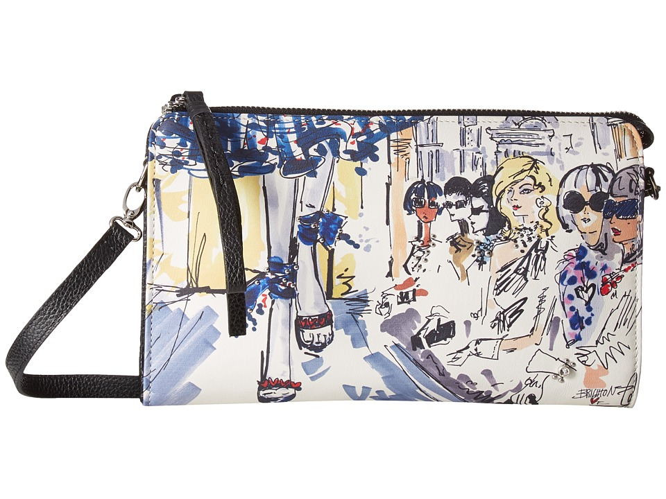 Brighton - Front Row Pouch (Multi) Wallet Handbags
