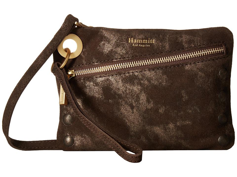 Hammitt - Nash Small Embossed (Wimba Buffed/Brushed Gold) Handbags