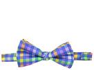 Etro Plaid Bow Tie