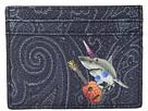 Etro Shark Card Holder