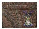 Etro Frog King Card Holder