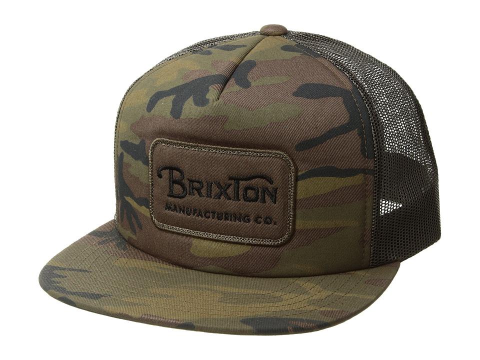Brixton - Grade Mesh Cap (Camo) Caps