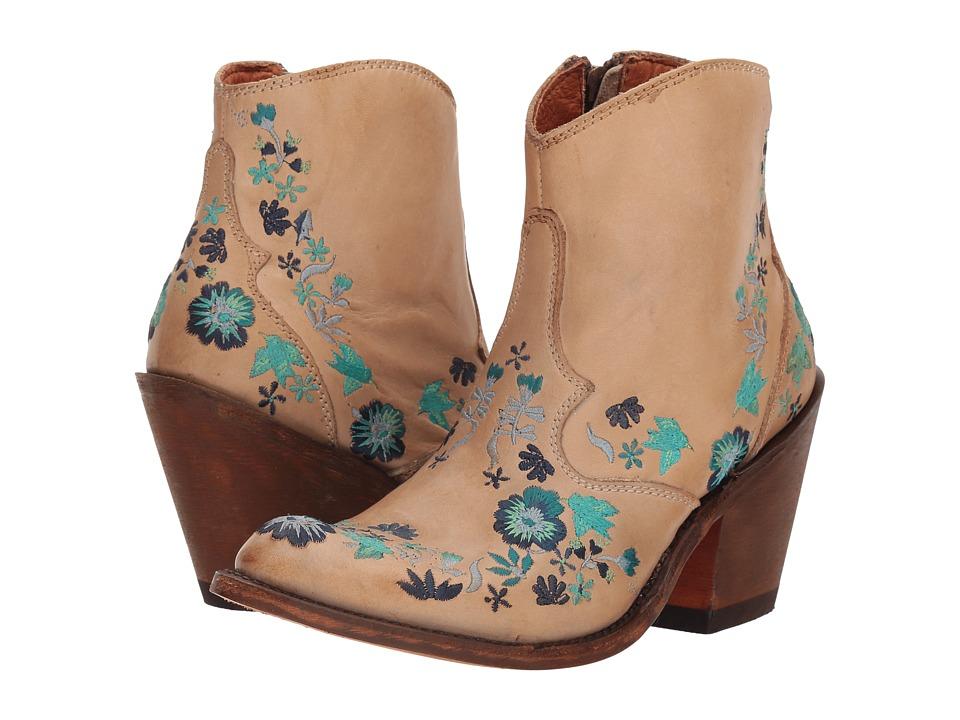 Dan Post Bouquet (Bone) Cowboy Boots