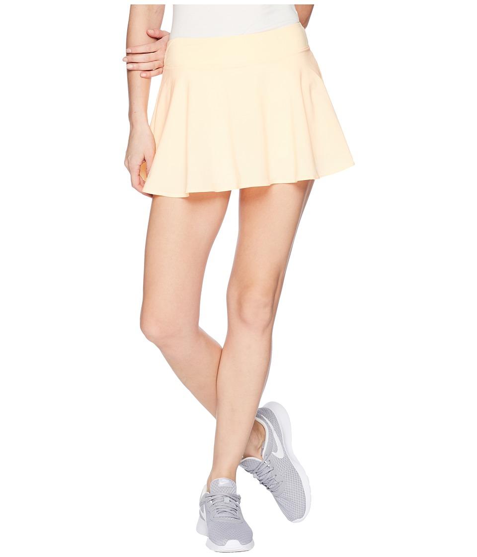 Nike Nike Court Flex Pure Tennis Skirt (Tangerine Tint/White) Women
