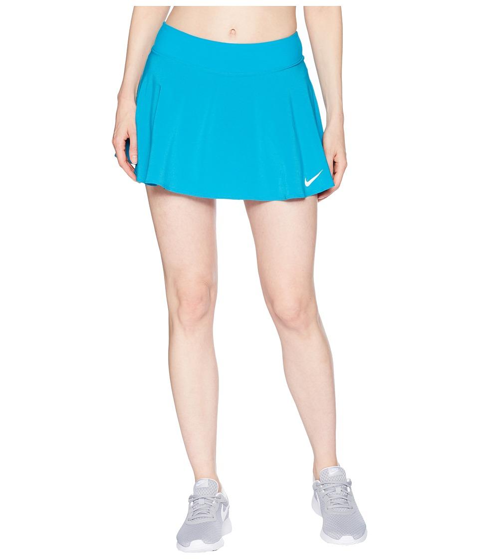 Nike Nike Court Flex Pure Tennis Skirt (Neo Turquoise/White) Women