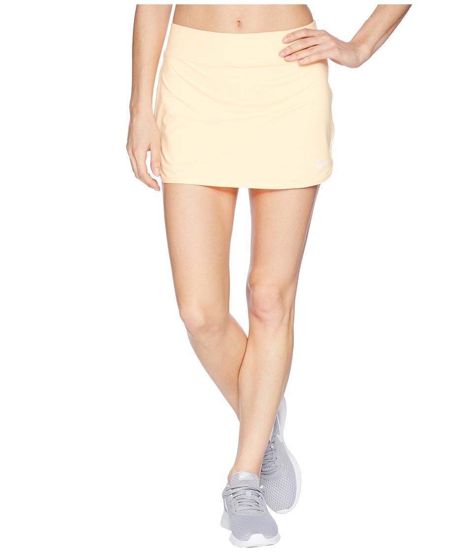 Nike Court Pure Tennis Skirt (Tangerine Tint/White) Women