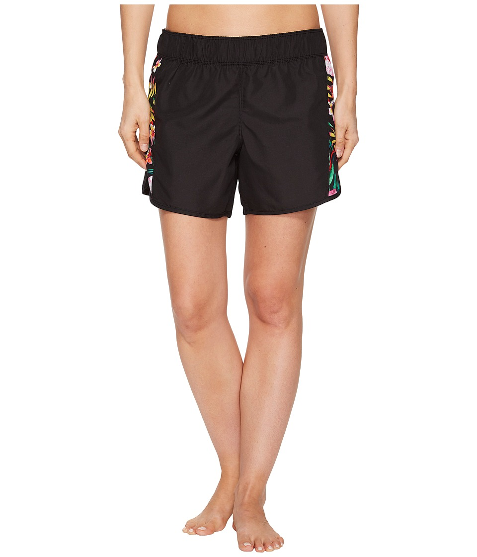 Hurley Supersuede Garden Beachrider Shorts (Black)