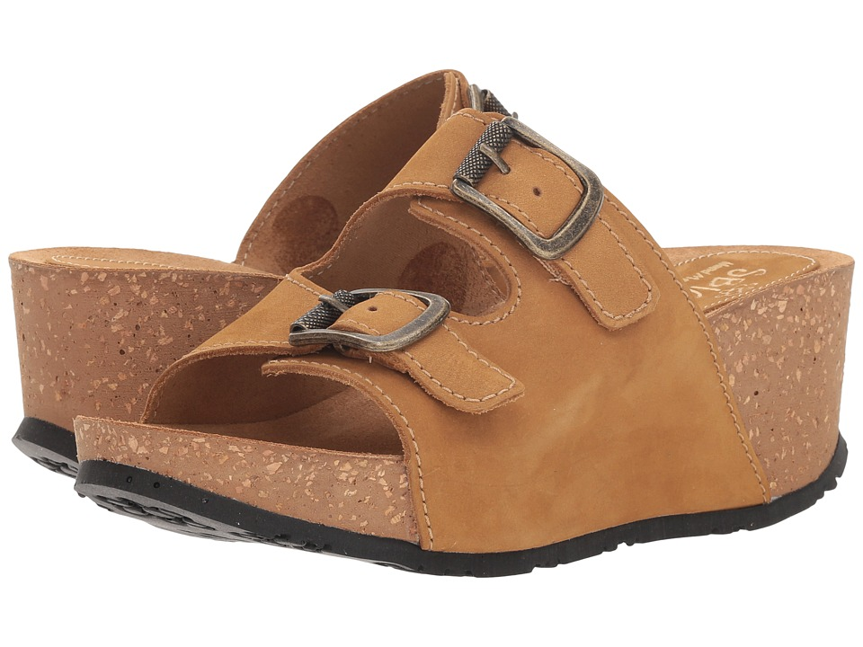 Sbicca Sharitza (Tan) Sandals