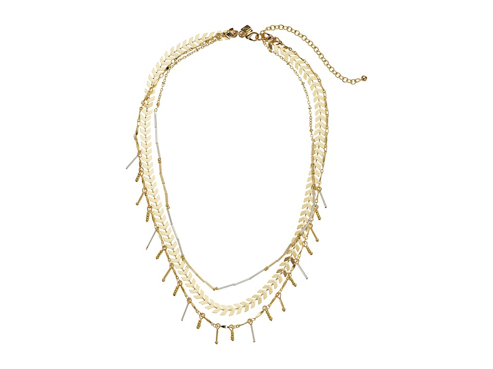 Rebecca Minkoff - Multi Functional Layered Necklace (Gold) Necklace