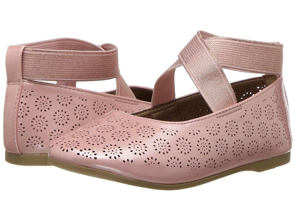 Jessica Simpson Kids - Mattie (Toddler) (Blush Patent) Girls Shoes